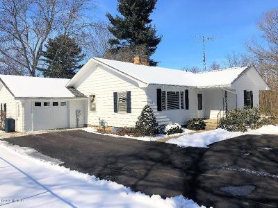 Albion Single Family Home For Sale: 8769 28 Mile Road