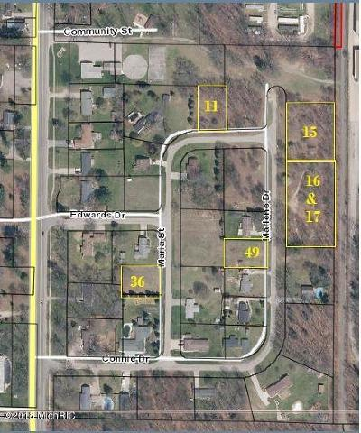 Oceana County Residential Lots & Land For Sale: V/L Marlene #Lots: 15
