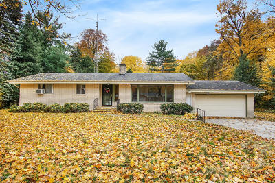 Berrien Springs Single Family Home Active Backup: 4546 Timberland Drive