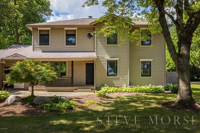 East Grand Rapids Single Family Home For Sale: 325 Pioneer Club Road SE