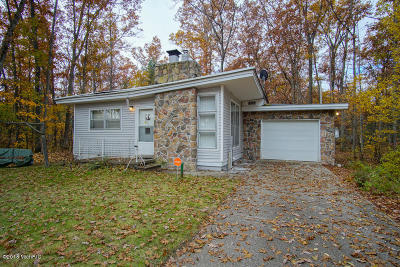 Idlewild MI Single Family Home For Sale: $69,900