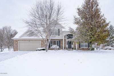 Galesburg Single Family Home For Sale: 8946 Compass Point Circle