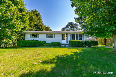 Plainwell Single Family Home For Sale: 10542 N 12th Street