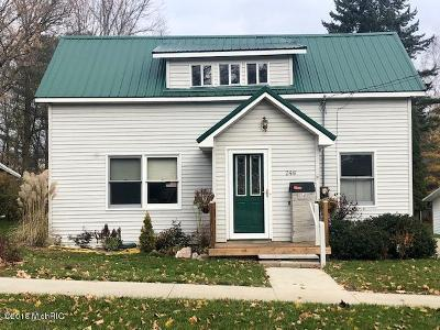 Reed City MI Single Family Home For Sale: $150,000