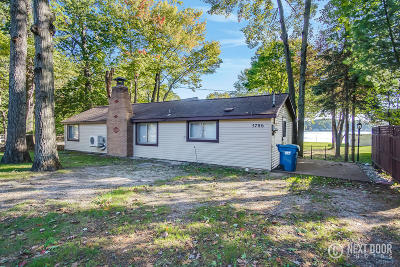 Pentwater Single Family Home For Sale: 5786 Longbridge Road