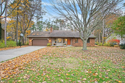 Grand Haven, Spring Lake Single Family Home For Sale: 13124 Sikkema Drive