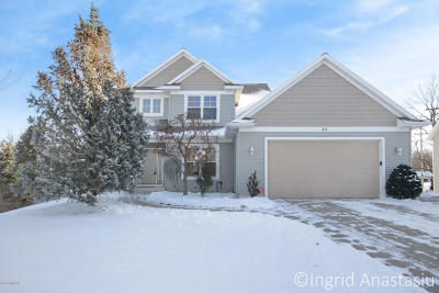 Rockford MI Single Family Home For Sale: $399,900