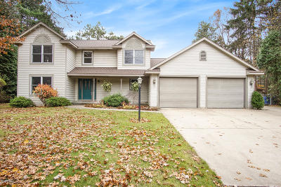 Grand Haven, Spring Lake Single Family Home For Sale: 15250 Hofma Drive