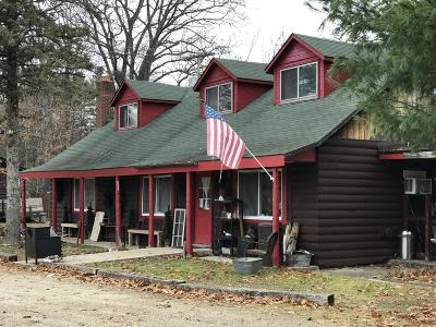 Manistee County Single Family Home For Sale: 1957 Seaman Road