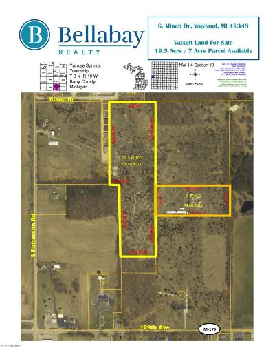 Barry County Residential Lots & Land For Sale: 1259 Minch Drive