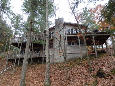 Manistee Single Family Home For Sale: 4845 White Pine Road