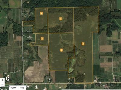 Clinton County, Gratiot County, Isabella County, Kent County, Mecosta County, Montcalm County, Muskegon County, Newaygo County, Oceana County, Ottawa County, Ionia County, Ingham County, Eaton County, Barry County, Allegan County Residential Lots & Land For Sale: 6107 124th Avenue