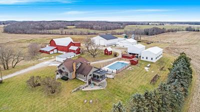 Single Family Home For Sale: 8965 E Arthur Road