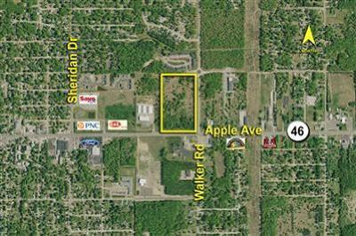 Clinton County, Gratiot County, Isabella County, Kent County, Mecosta County, Montcalm County, Muskegon County, Newaygo County, Oceana County, Ottawa County, Ionia County, Ingham County, Eaton County, Barry County, Allegan County Residential Lots & Land For Sale: 2626 Apple Avenue #V/L
