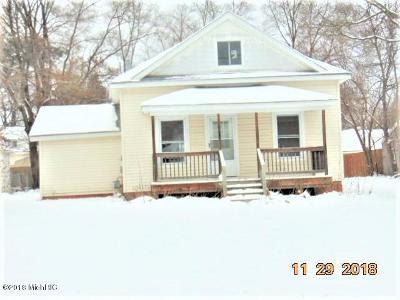 Sparta MI Single Family Home For Sale: $88,900