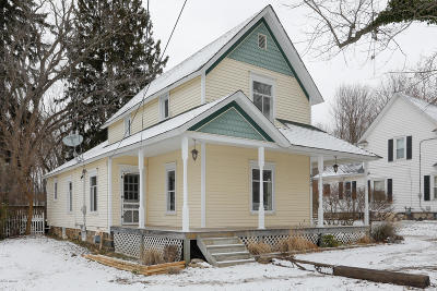Allegan MI Single Family Home For Sale: $187,500