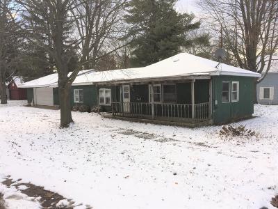 Cedar Springs MI Single Family Home For Sale: $82,900