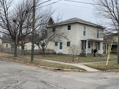 Branch County Single Family Home For Sale: 124 Henry Street