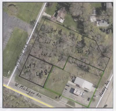 Calhoun County Residential Lots & Land For Sale: Prudence Ln & Hussey Ave