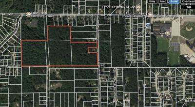 Muskegon County, Newaygo County, Oceana County, Ottawa County Residential Lots & Land For Sale: Vl E Pontaluna & S Walker