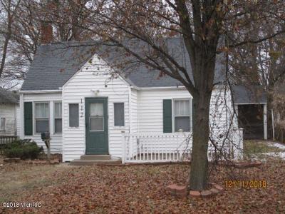 Battle Creek Single Family Home For Sale: 112 Roseneath Avenue