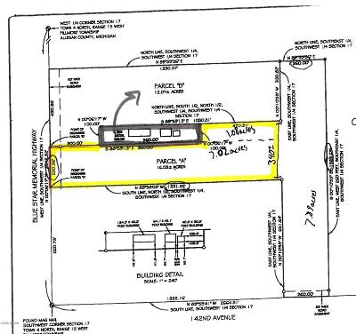 Holland, West Olive Residential Lots & Land For Sale: 4225 Blue Star Highway