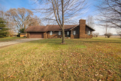 Branch County Single Family Home For Sale: 601 St. Joseph Road