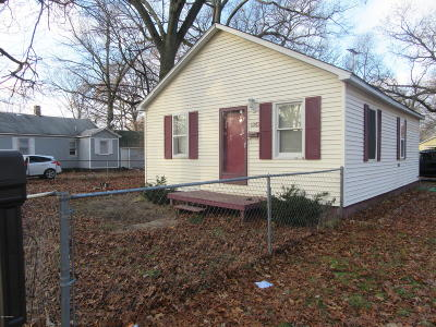 Muskegon Single Family Home For Sale: 1282 Flower Avenue