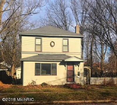 Plainwell Single Family Home For Sale: 215 E Hill Street
