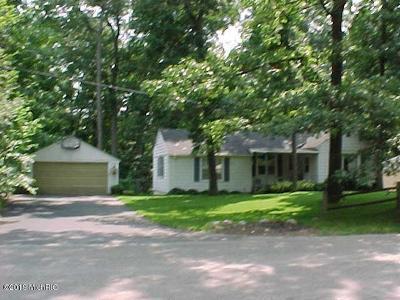 Battle Creek Single Family Home For Sale: 835 Woodland Beach