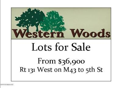 Kalamazoo Residential Lots & Land For Sale: 8845 Western Woods Drive