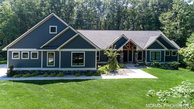 Clinton County, Gratiot County, Isabella County, Kent County, Mecosta County, Montcalm County, Muskegon County, Newaygo County, Oceana County, Ottawa County, Ionia County, Ingham County, Eaton County, Barry County, Allegan County Single Family Home For Sale: 17338 Sandgate Place