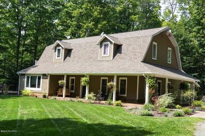 Ludington Single Family Home Active Contingent: 2985 N Victory Corner Road