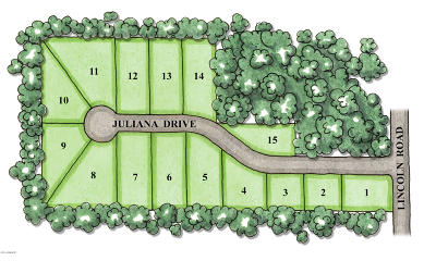 Ludington Residential Lots & Land For Sale: 6460 W Juliana Drive #Lot 15