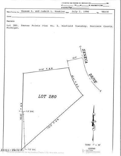 Howard City Residential Lots & Land For Sale: 280 Seneca Drive