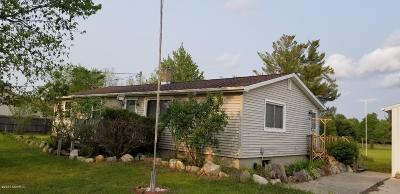 Hersey MI Single Family Home For Sale: $114,900