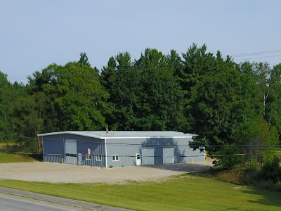 Scottville Commercial For Sale: 1868 W Us-10 Highway