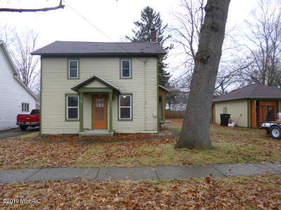 Allegan Single Family Home For Sale: 227 Herkimer Street
