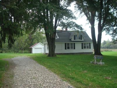 Clinton County, Gratiot County, Isabella County, Kent County, Mecosta County, Montcalm County, Muskegon County, Newaygo County, Oceana County, Ottawa County, Ionia County, Ingham County, Eaton County, Barry County, Allegan County Single Family Home For Sale: 3297 E 128th Street