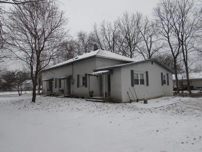 Berrien County, Branch County, Calhoun County, Cass County, Hillsdale County, Jackson County, Kalamazoo County, St. Joseph County, Van Buren County Multi Family Home For Sale: 110 W Beckwith Drive