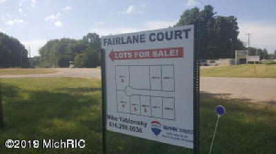 Otsego Residential Lots & Land For Sale: Unit 6 Fairlane Court
