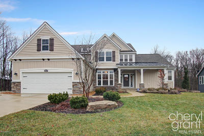 Hudsonville Single Family Home For Sale: 4610 Equestrian Drive