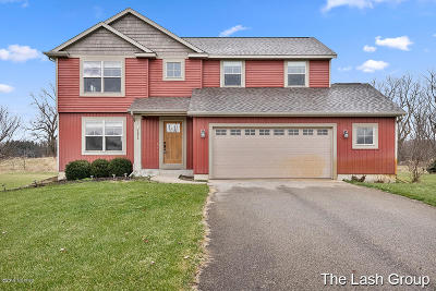 Allegan County Single Family Home For Sale: 3852 Rabbit River Farms Drive