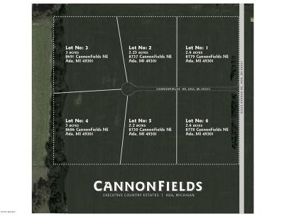 Ada Residential Lots & Land For Sale: Lot 5 Cannonfields Lane