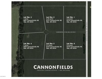 Ada Residential Lots & Land For Sale: Lot 4 Cannonfields Lane