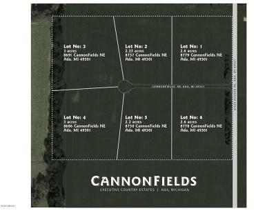 Residential Lots & Land For Sale: Lot 6 Cannonfields Lane, Ada, Mi 493