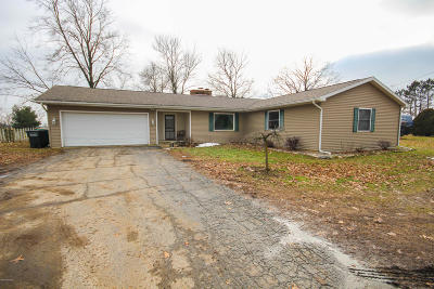 Sturgis Single Family Home For Sale: 23727 W Fawn River Road