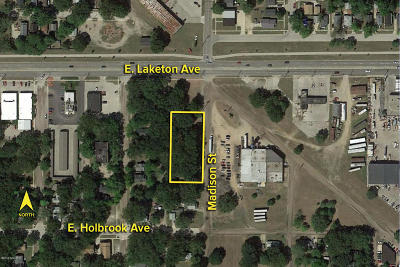 Muskegon Residential Lots & Land For Sale: Vl Madison Street