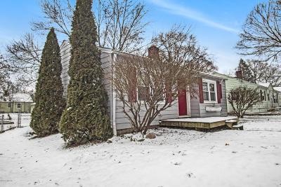 Kalamazoo Single Family Home For Sale: 3103 Lowell Street