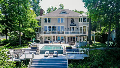 Union Pier MI Single Family Home For Sale: $5,950,000